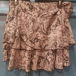 BCBG flirt skirt